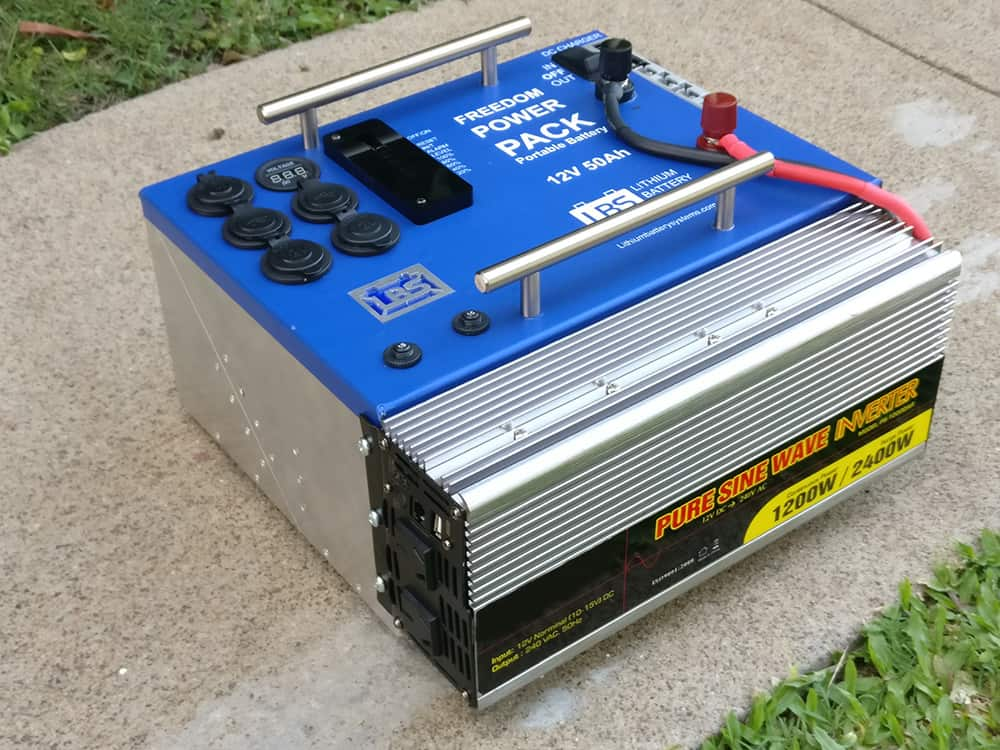 Freedom Power Pack with Inverter