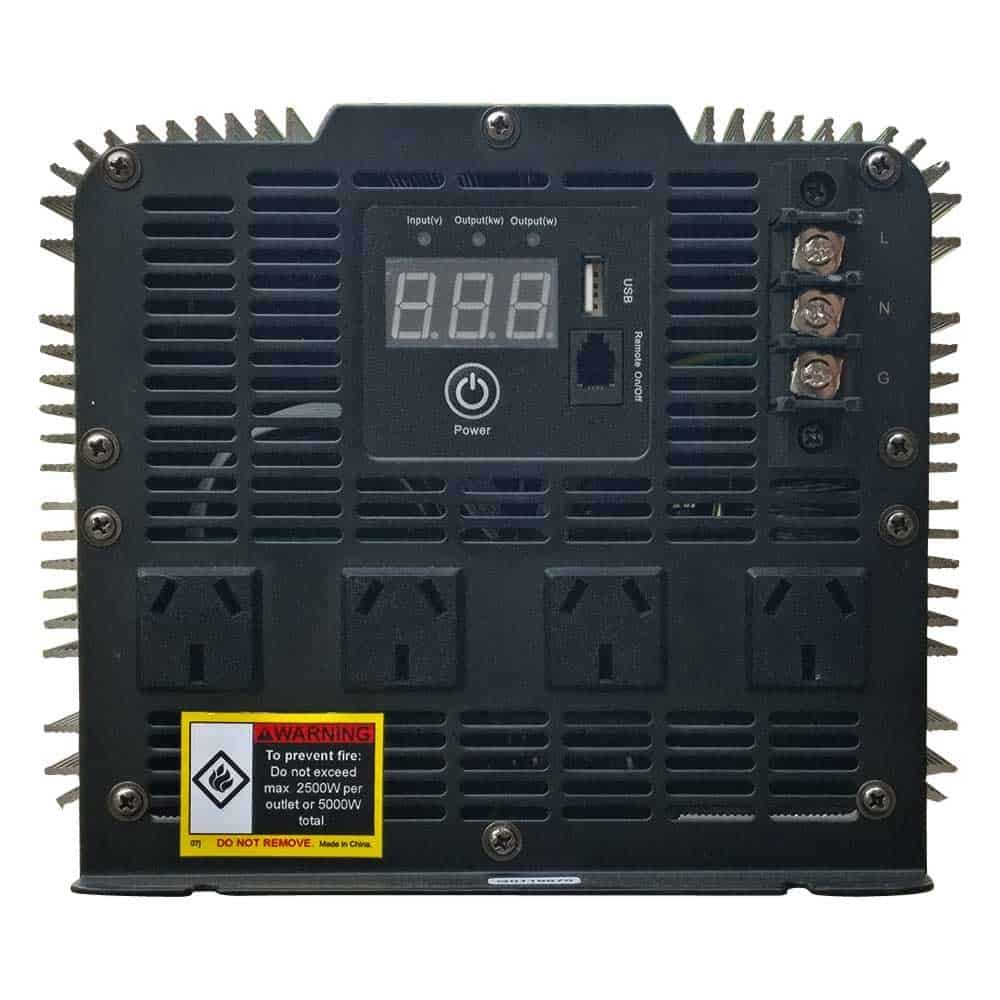 Inverters for lithium batteries