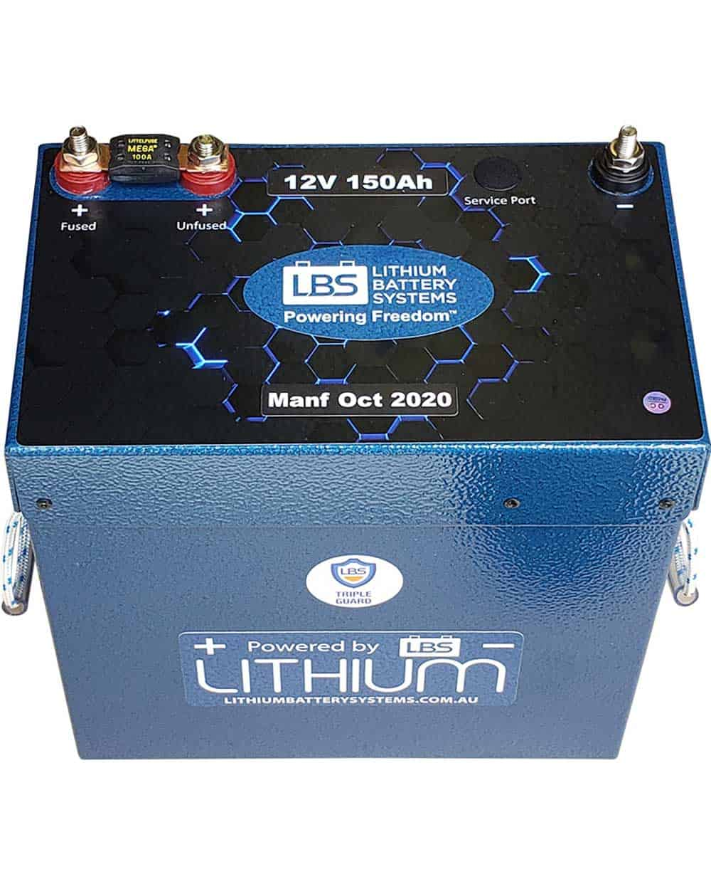 Lithium Battery Systems LBS-12150C-SP Front View