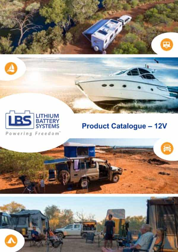 Lithium Battery Systems 12V Product Catalogue